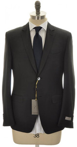 Canali 1934 Suit Trim Fit 2B Travel Wool Mohair 42 52 R8 Brown 25SU0148