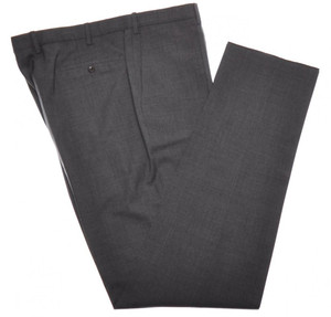 Incotex Dress Pants 100s Wool 44 60 Gray 08PT0175