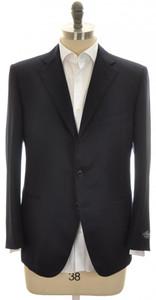 Belvest Sport Coat Jacket 3B 120s Wool Flannel 42 S 52 C Blue