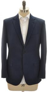 Belvest Sport Coat Jacket 2B Techno Cotton Size 44 Blue