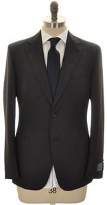 Belvest Suit 2B Wool 120's 36 46 Gray Solid 50SU0143