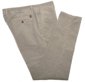 Incotex Dress Pants Washed Cotton Stretch 36 52 Gray 08PT0191