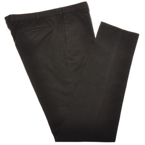 Incotex Dress Pants Cotton Brushed Twill 40 56 Dark Green 08PT0185