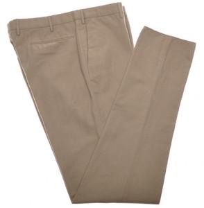 Incotex Dress Pants Cotton Linen Twill 40 56 Olive Green 08PT0184
