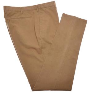 Incotex Dress Pants Brushed Cotton Twill 42 58 Brown 08PT0201