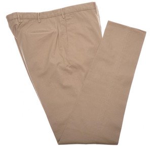 Incotex Dress Pants Cotton Stretch Fancy 42 58 Khaki Brown 08PT0200
