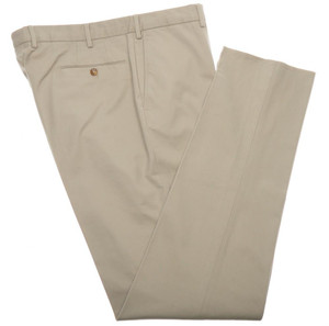 Incotex Dress Pants Cotton Twill 3-Ply 42 58 Khaki Brown 08PT0194