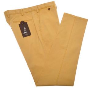 PT01 Pantaloni Torino Slim Fit Pants Cotton Stretch 38 54 Yellow PT0131