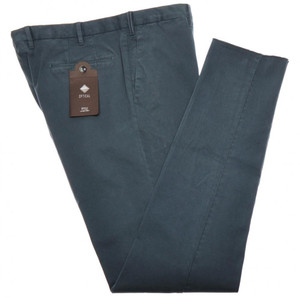 PT01 Pantaloni Torino Evo Slim Pants Cotton Stretch 38 54 Green PT0130
