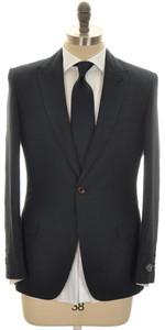 Belvest Suit 1B Peak lapel Linen Cotton 38 48 Dark Blue 50SU0171