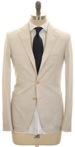 Belvest Suit 3B Cotton Stretch 38 48 Sand Brown-Gray 50SU0180