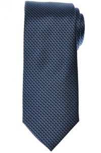 Brioni Tie Silk Blue Green Geometric 03TI0625
