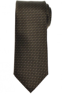 Brioni Tie Silk Green Geometric 03TI0646