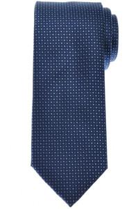 Brioni Tie Silk Blue Geometric 03TI0644