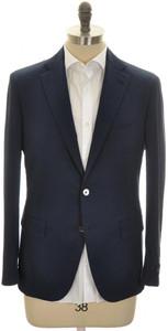 Belvest Sport Coat Jacket 2B Poly-Cotton Stretch 40 50 Blue 50SC0261
