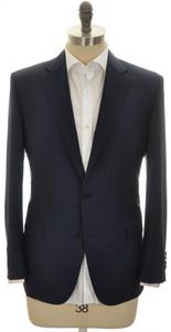 Belvest Sport Coat Jacket 2B Wool Mohair 42 S 52 C Blue