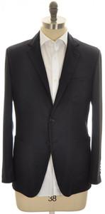 Belvest Sport Coat Jacket 2B Wool Cashmere 40 50 Dark Blue