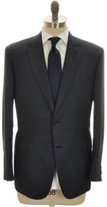 Brioni Suit 'Brunico' 2B Wool Silk 44 54 Blue Tick 03SU0183