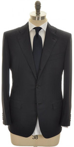 Kiton Suit 3B Diamante Blue 150's Wool 50 60 Blue Micro Stripe 01SU0157