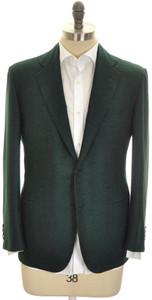 Kiton Sport Coat Jacket 2B Cashmere Silk 40 S 50 C Green 01SC0195