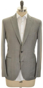 Boglioli 'Hampton' Sport Coat Jacket 3B Wool Cashmere 40 50 Gray 24SC0223