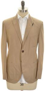 Boglioli 'Wear' Sport Coat Jacket 2B Light Cotton 40 50 Brown 24SC0222