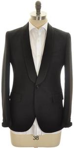 Boglioli 'Alton' Sport Coat 1B Shawl Wool Mohair 38 48 Black