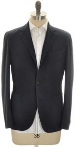 Boglioli 'Coat' 3B Sport Coat Jacket Silk Cotton 38 48 Blue