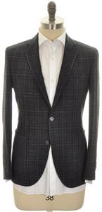 Boglioli 'K Jacket' 2B Sport Coat Wool Linen 38 48 Gray Black