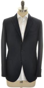 Boglioli 'K Jacket' 3B Sport Coat Lightweight Wool 38 48 Blue 24SC0239