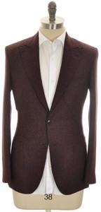 Boglioli 'Necchi' 2B Sport Coat Jacket Wool Blend 38 48 Brown 24SC0250
