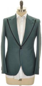 Boglioli 'York' 1B Formal Sport Coat Jacket Silk 38 48 Teal Blue