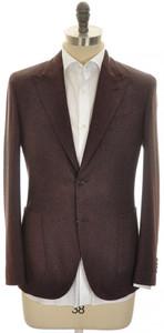 Boglioli 'K Jacket' 2B Sport Coat Wool Cashmere 38 48 Brown Tweed