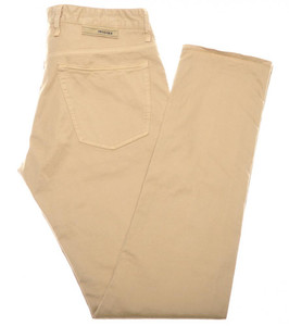 Incotex Jeans Cotton Twill 34 50 Khaki Brown 28JN0127