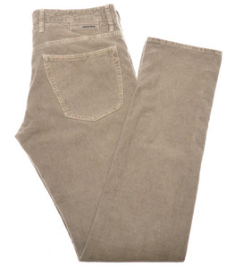 Incotex Jeans Cotton Stretch Corduroy 40 56 Brown 28JN0126