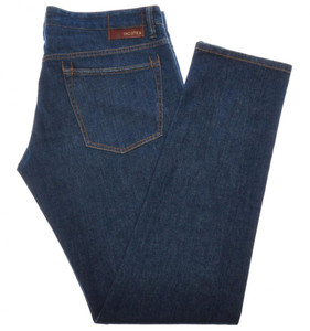 Incotex Jeans Cotton Stretch Denim 36 52 Blue 28JN0124