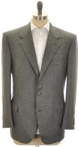 Brioni Sport Coat Jacket 'Palatino' Cashmere 44 54 Gray Tweed 03SC0125