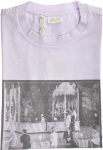 Brioni T-Shirt Extra Fine Washed Cotton Stretch Medium Purple 03TS0124