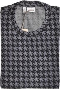 Brioni T-Shirt Extra Fine Cotton XLarge Gray 03TS0114
