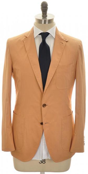 Belvest Suit 3B Super Light Cotton Poplin 38 48 Brown 50SU0178