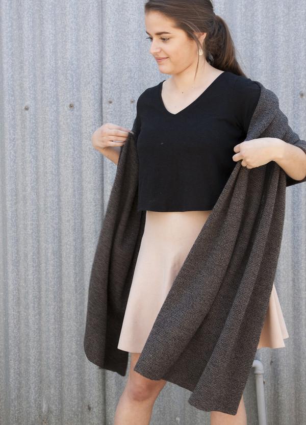 Oversized Merino Wrap