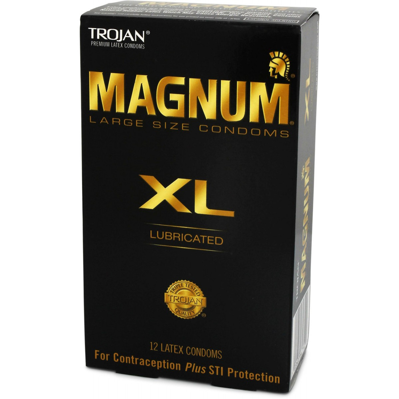 trojan magnum xl lubricated condoms 12 pack dallas novelty