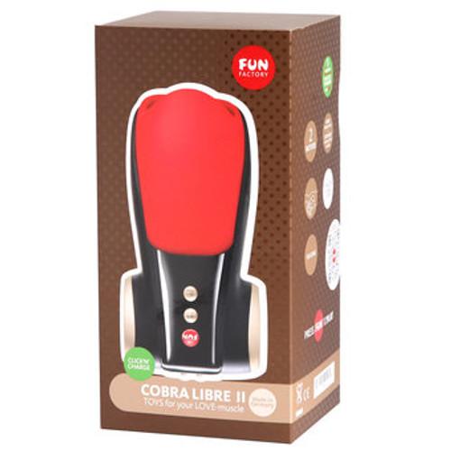 fun factory cobra libre ii male stimulator red black. Black Bedroom Furniture Sets. Home Design Ideas