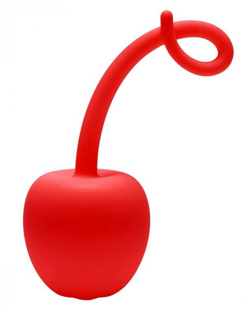 Frisky Red Apple Silicone Kegel Exerciser - Dallas Novelty-4592