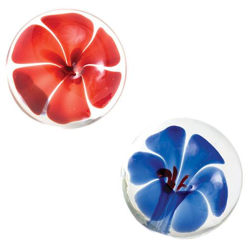 Glas Spiral Glass Dildo Blue - Dallas Novelty-3750