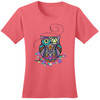 New! Serenity Prayer Owl Coral Tee