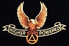 Embroidered Tshirt - Higher Power