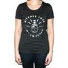 "Women's ""Bitches Love My Switches"" T-Shirt - Size Medium shown"