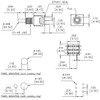 Datasheet for Taiway brand toggle #200-MDP1-T2B1M2QE - Sub-Mini DPDT On On Switch - PCB Mount