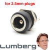 Thinline Lumberg DC Power Jack - 2.5mm